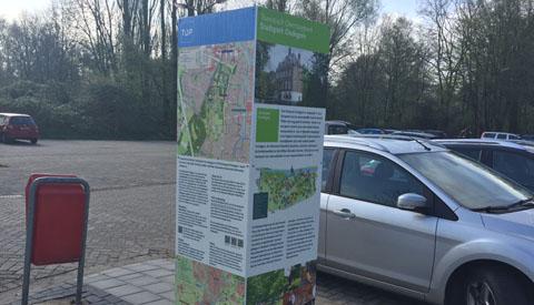 Toeristisch overstappunt Park Oudegein en kanosteiger geopend