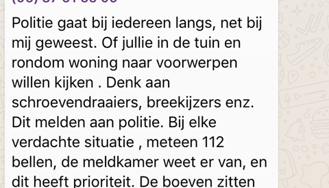 Politie houdt jonge inbrekers aan in Nieuwegein