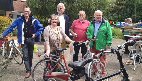 Enthousiasme over eerste Fiets-Rommelroute