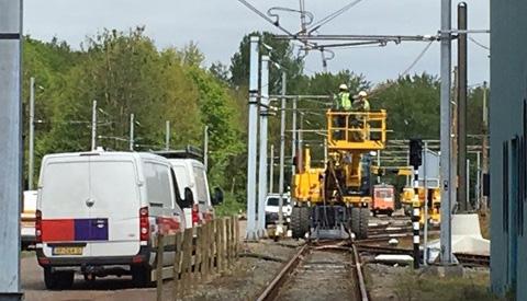 Trams rijden weer naar Nieuwegein na grote storing