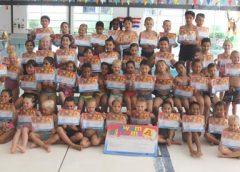 Kinderen behalen A-zwemdiploma in Merwestein