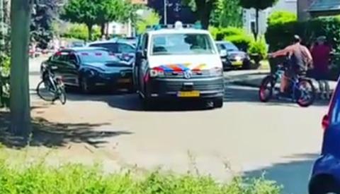 Videobeelden van oppakken Nieuwegeinse autodief in Nijmegen
