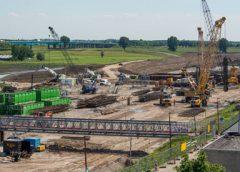 Tijdelijke fietsbrug Beatrixsluis op 14 juni afgesloten, lichte verkeershinder Waterliniedok