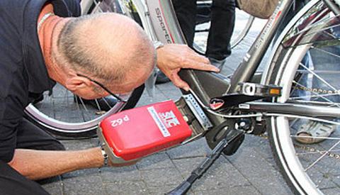 Laat uw fiets gratis graveren!