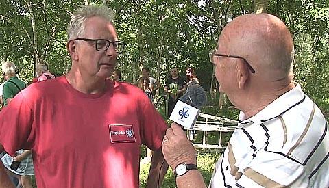 Reportage: 'Ringen jonge ooievaars in Galecop'