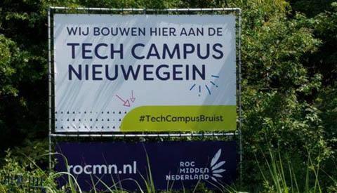 ROCMN bouwt aan Tech Campus Nieuwegein