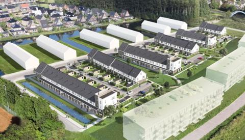 Bouw 52 woningen en 108 appartementen in Blokhoeve Nieuwegein van start