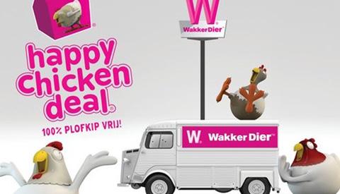 Wakker Dier deelt gratis Happy Chicken Deals uit naast McDrive