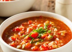Koken met PEN: 'Zomerse gazpacho'