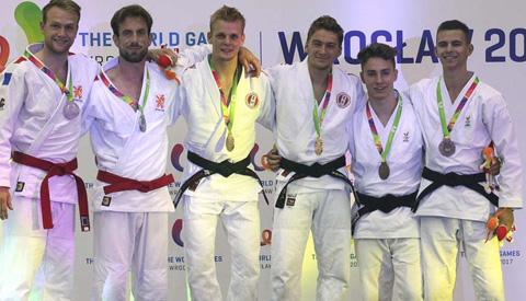Zilver voor Jiu-Jitsuers van BSP Holland/De Mix uit Nieuwegein op de World Games 2017
