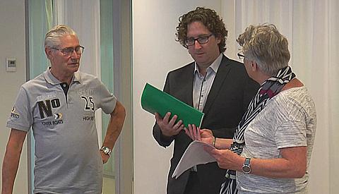 Video: Zwart scherm splijt Vreeswijk in tweeën