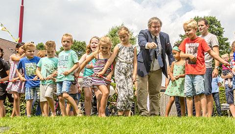 Speeltuin in eigen beheer geopend aan de Landmansweide