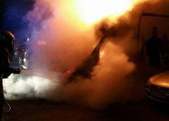 Auto uitgebrand op de Barnsteendrift