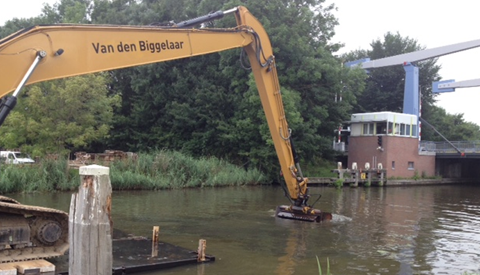 Baggeren Hollandsche IJssel opgeschort tot na komend vaarseizoen