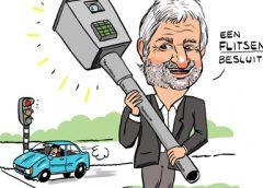 PENTekening: 'Een flitsende wethouder Peter Snoeren'