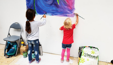 KCN organiseert 'Kids Art Club'