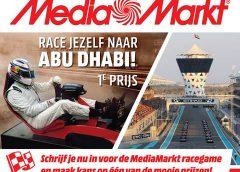 Race jezelf naar de Grand Prix van Abu Dhabi met de MediaMarkt Nieuwegein