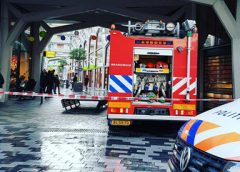 Brand in winkel aan de Binnenstede snel geblust, kleding met 50% korting weg!