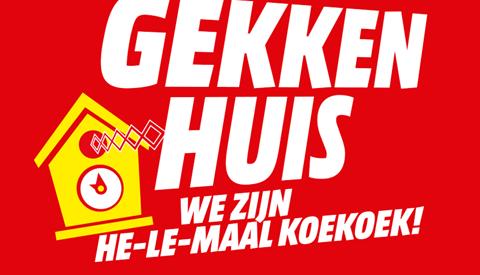 Gekkenhuis! bij de Media Markt Nieuwegein