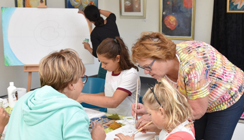 'Kids Art Club' een succes!