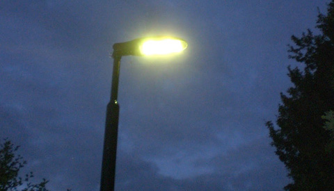 Verlichting aan de Galecopperlaan doet het weer