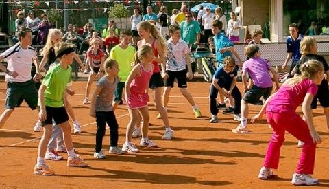 Tennis Open Dag bij TV Oudegein