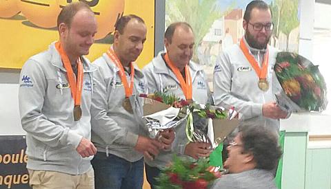 Team Kees Koogje winnaars NJBB Masters 2017 in Nieuwegein