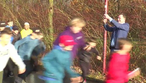Wethouder Hans Adriani gaf startschot voor de Nieuwegein Challenge sponsorloop