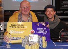 Nieuwegeiner Eric Sinke wint de Poker Series in Nijmegen