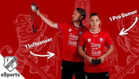 Spelen tegen de e-Sporters van FC Utrecht bij de MediaMarkt in Nieuwegein