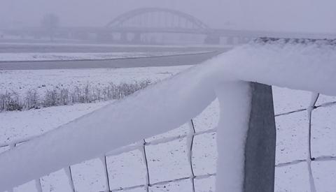 De eerste sneeuwfoto's komen al binnen op onze redactie