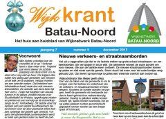 De wijkkrant voor Batau-Noord is weer uit