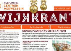 Wijkkrant Centrum/Merwestein is weer uit