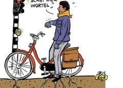 PENTekening: 'Wortelschieten langs de Laagravenseweg'