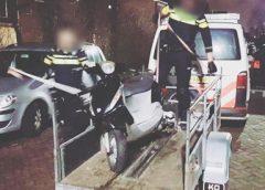 Alerte BuurtWhatsappers helpen gestolen scooter aan eigenaar