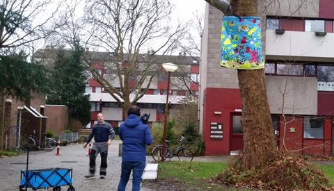 Kunst in de Rijtuigenbuurt ter verbetering van de wijk