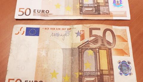 Nepgeld in Nieuwegein in omloop