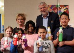 Basisschool UniQ tweede afvalvrije school in Nieuwegein