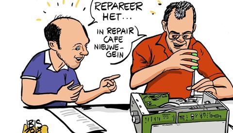 PENTekening: 'Repair Café'