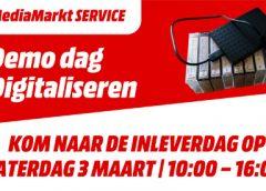 Inlever & demo dag oud beeldmateriaal MediaMarkt Nieuwegein