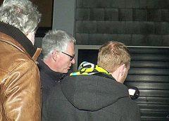 Wethouder Peter Snoeren voert warmtescan uit in de Rijtuigenbuurt