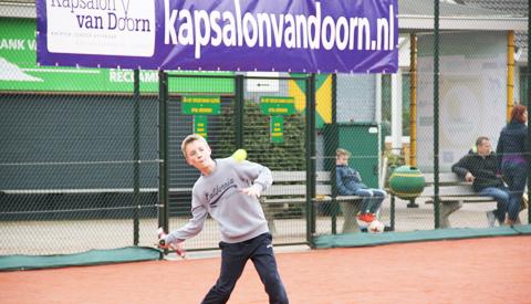 Jubileumeditie Open Jeugdtoernooi tennisvereniging Rijnhuyse