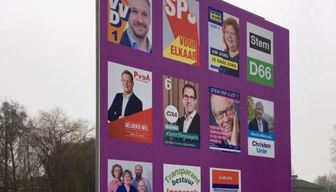 De gemeenteraadsverkiezingen 2018 in Nieuwegein