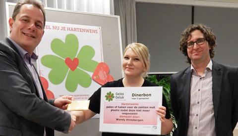 Drie inwoners beloond met inzending hartenwens Geins Geluk