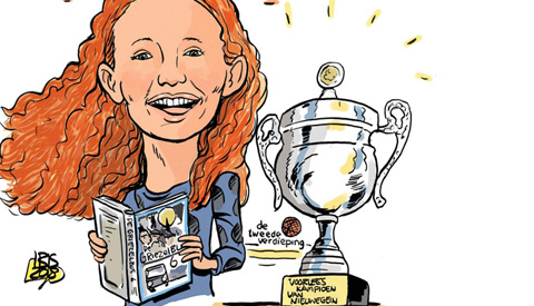 PENTekening: 'Sophie wint het voorleeskampioenschap in Nieuwegein'