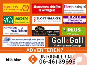 Adverteer op het grootste platform als het gaat over Nieuwegein!