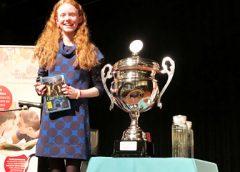 Sophie Kwakernaak is de Nieuwegeinse voorleeskampioen 2018