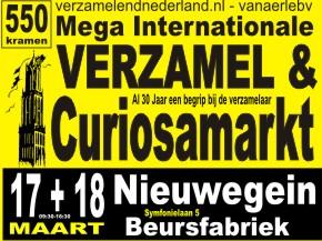 Verzamel & Curiosamarkt in Nieuwegein