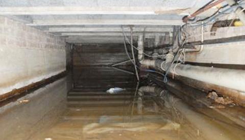 Wateroverlast voor bewoners aan de Zegelstede