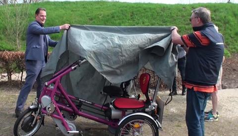 Nieuwegeiners kunnen er op uit met tweede duo-fiets
